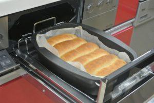 グリルで焼くパン